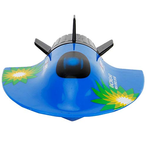 Hisoul Hot RC Submarine Toys Mini Electric Radio Remote Control Submersible Boats Toys - Safe and Durable, Far Control Distance, Multiple Propellers - for Kids Best Diving Toy (Blue)