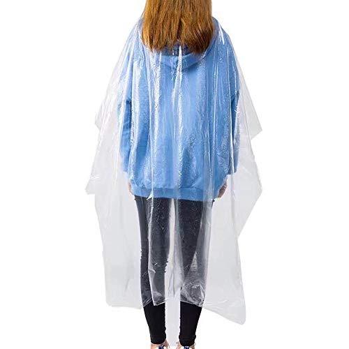 VAINECHAY 100 capas de peluquería desechables para cortar el pelo, transparentes e impermeables, para adultos y niños, 120 x 150 cm