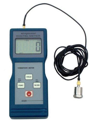 Gowe Vibrationsmesser GVM-6320-1, Vibrationstester, Lagerzustandsmesser, Maschinenzustandsprüfung, Vibrationsdaten-Sammler, Field Balancer Analyzer, Vibrations-Checker, Vibrations-Checker GVM-6320-1