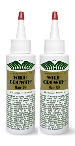 Wild Growth Hair Oil 4oz 'Pack of 2'