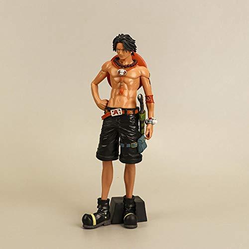 FYH Shop Figura Modelo De Una Pieza, Modelo De Dibujos Animados De Juguete De Figura De As De Puño De Fuego, Modelo De Una Pieza,Casa Modelo De Juguete