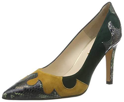 lodi rol, Zapatos de tacón con Punta Cerrada para Mujer, Multicolor (Mili Abeto Mili Abeto), 39 EU