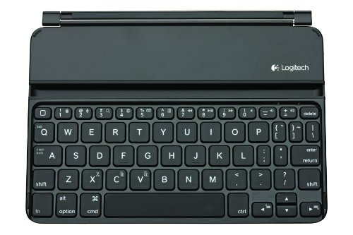 Logitech UltraThin Magnetic Clip-On Wireless Bluetooth Keyboard Cover for iPad Mini 1, 2 & 3 (French AZERTY Layout)