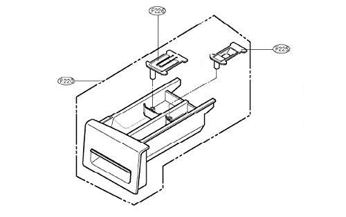 LG – Schublade für Produkte – Agl33683762 für Waschmaschine
