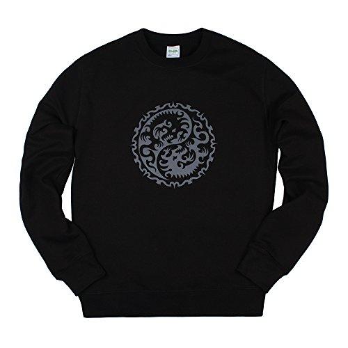 Strand Clothing - Sweat-Shirt - Manches Longues - Homme Noir Noir - Noir - X-Large