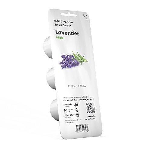 Click and Grow Recharge Triple de Lavande pour Smart Garden
