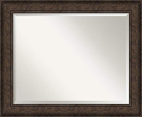Amanti Art Framed Vanity Mirror   Bathroom Mirrors for Wall   Ridge -