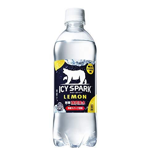【炭酸水】コカ・コーラ ICY SPARK from カナダドライ レモン490mlPET ×24本