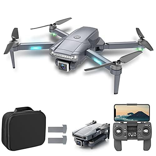 Goolsky S179 GPS RC Drone con Fotocamera 4K 5GWiFi FPV Posizionamento del Flusso Ottico Quadcopter Brushless Motor Point of Interest Waypoint Flight Max 800m Control Distance con Custodia