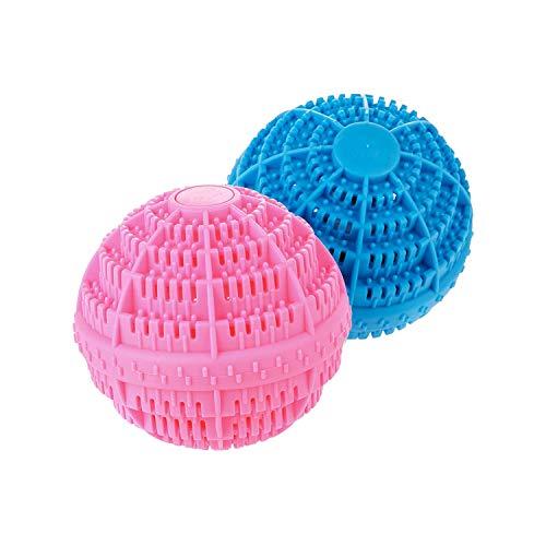 Laver et sécher les boules de lessive lot de 2