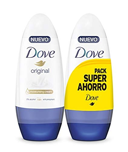 Dove Original- Desodorante Roll On 2x 50 ml
