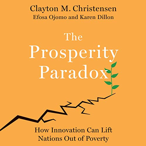 The Prosperity Paradox audiobook cover art