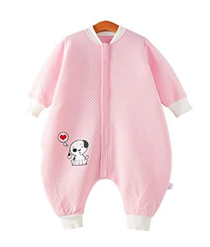 Emmala Baby Slaapzak Lente Herfst Casual Chic Unwrapped Kids Slaapzak Met Bont 100% Katoen Voor Temperatuur Meer dan 20 Graden 1# Xl Lichaamsgrootte 100 110Cm