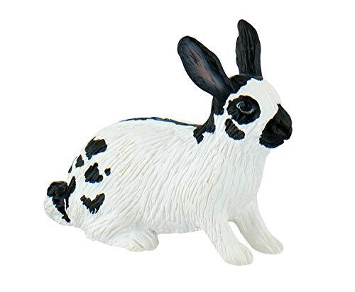 Bullyland 64611 - Spielfigur, Hase, ca. 4,3 cm groß, liebevoll handbemalte Figur, PVC-frei, tolles Geschenk für Jungen und Mädchen zum fantasievollen Spielen