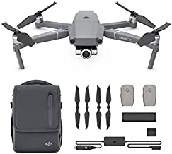 DEVICEKART Dji Mavic 2 Zoom Drone Quadcopter with Fly More Kit Combo Bundle