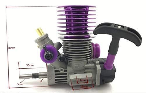 Buy Part & Accessories 1/10 scale RC Nitro 18HB Race 4P Engine 3.0-3.5cc with pull starter for HPI K...