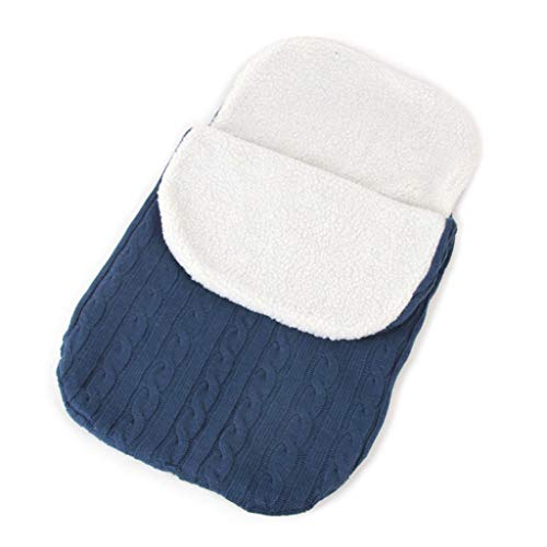 JOYKK Pasgeboren Baby Swaddle Wrap Warm Deken Breien Baby Carriage Slaapzak