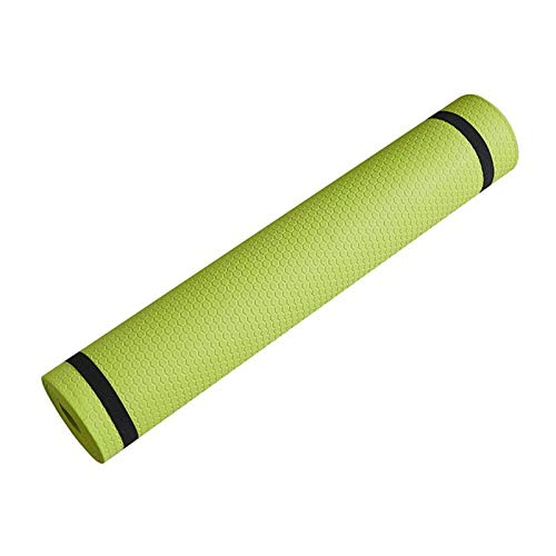 N\C Esta Esterilla de Yoga está Hecha de Material EVA Adecuado para estiramientos, Entrenamiento de Fuerza, Yoga y Entrenamiento de rehabilitación en el Gimnasio o en casa.Espesor 3/4/5 / 6mm