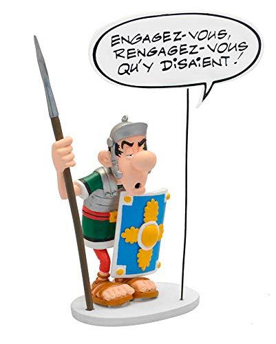 Plastoy SAS PLA00129 Asterix: Römer con Burbuja de Voz: engagez, rengagez-Vous qu'y disaient, Multicolor