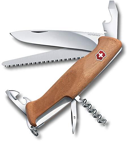 Victorinox V09561.63 Navaja Grande Ranger Wood 55, marrón, L