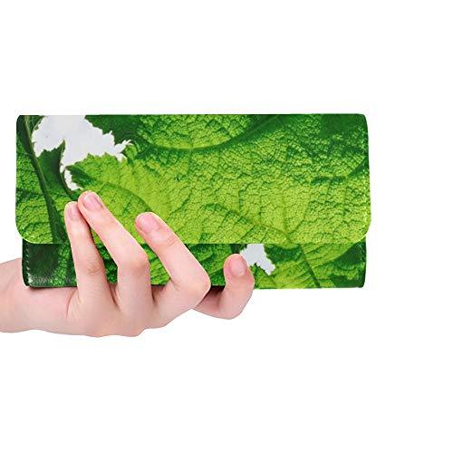 Unique Custom Wild Outdoors Landscape Nature Travel Trip Women Trifold Wallet Long Purse Credit Card Holder Case Handbag