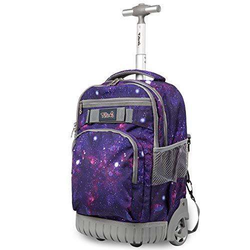 TABITORA(タビトラ) スーツケース リュックキャリー ビジネスバッグ 旅行バッグ リュックサック 機内持込 ビジネス 静音 大容量 通勤 通学 出張 男女兼用 パープル