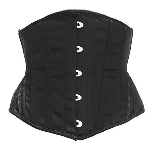 Bslingerie dames Steampunk staal zonder botten onderborst corsages heupriem