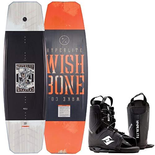 Hyperlite Wishbone Wakeboard Flex Board Grindbase Cable Wakeboard-Set Bindung 138cm