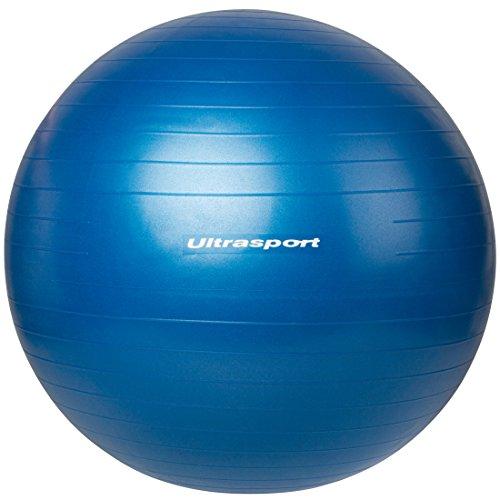 Ultrasport Pelota de fitness, Azul, 75 cm