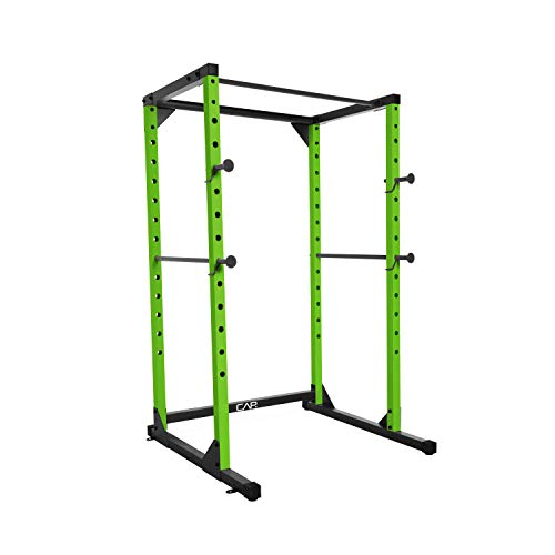 CAP Barbell Full Cage Power Rack, 6-Foot, Green