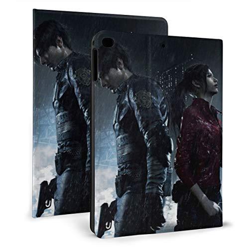Resident Evil Custodia per iPad 9.7 2018 2017 / iPad Air 1/2 Cover Auto Wake/Sleep per Apple iPad 9,7 pollici 6° / 5° PU Pelle Shell Stand Smart Slim