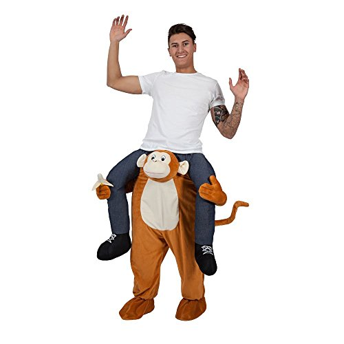 Carry Me Cheeky Monkey - Adult Costume Adult - One Size