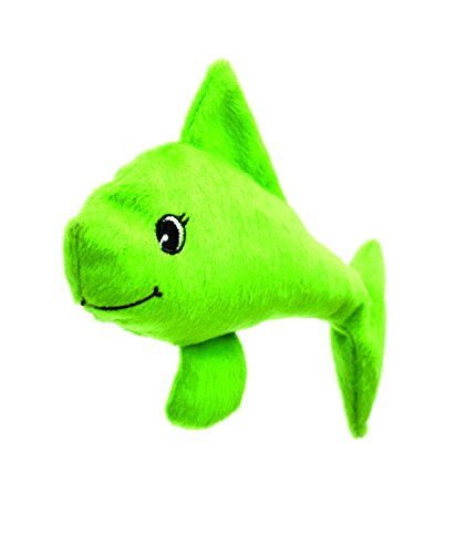 Katzenspielkissen Welli-Fisch grün