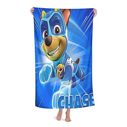 Paw Patrol Hero toallas de playa de microfibra ultraligeras, toallas de baño, toallas de baño, natación absorbente, camping, fitness, esterilla de yoga, mantas toalla de baño