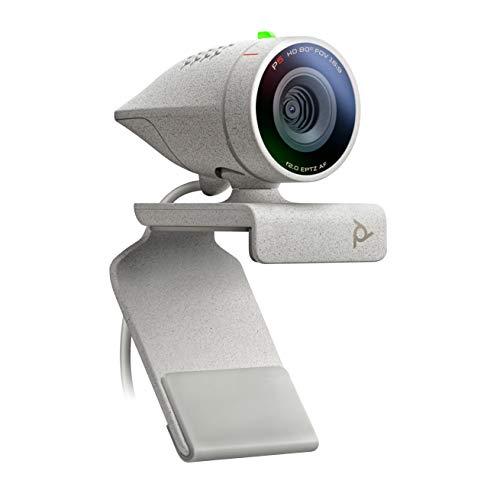 Poly - Studio P5 - Cámara Web Profesional HD (Plantronics) - Cámara de videoconferencia HD de 1080p