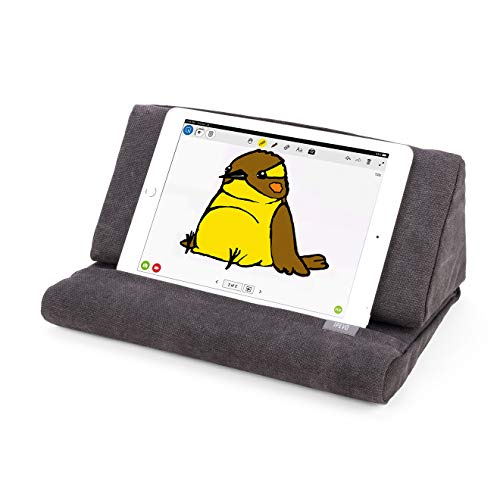 Ipevo Kissenständer PadPillow für iPad 1/2/3/4/Air/Nexus/Galaxy anthrazit