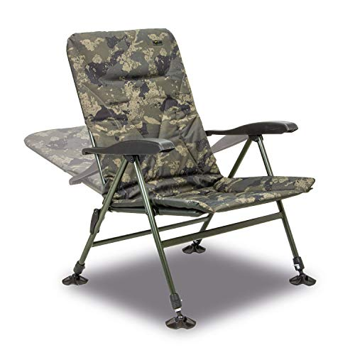 Solar Tackle Unisex's Undercover Recliner Chair, Camouflage, One Size
