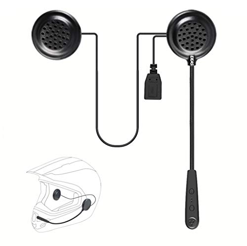 EJEAS E1 Motorcycle Helmet Bluetooth 4.1 Headset with Hands free, Music...