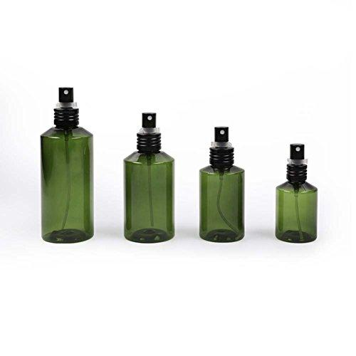 DBSCD Amber Mehrwegbehälter Sprühflaschen Reiseflaschen Körperpflege Flüssigkeitsbehälter Wiederverwendbar Sicher Ungiftig Geruchlos, 4-TLG