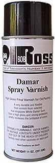 Bob Ross Damar Spray Varnish 11 oz