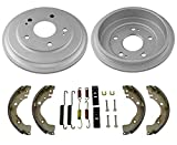 Mac Auto Parts Rear Drums Brake Shoes & Hardware Spring Replacement Kit for Honda Civic 2006-2015