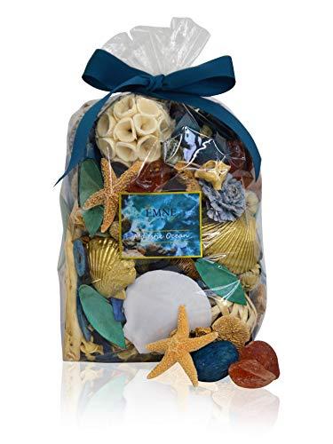 EMNE HOME Majestic Ocean Potpourri Bag | Beautiful Nautical Botanicals | 10oz Bag |Hand Made in The USA