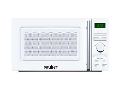 Sauber - Microondas AL VAPOR - Con GRILL - SERIE 3-21WG -...