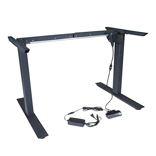 Titan Electric Motor, Adjustable Base Height Sit-Stand, Standing Desk Frame