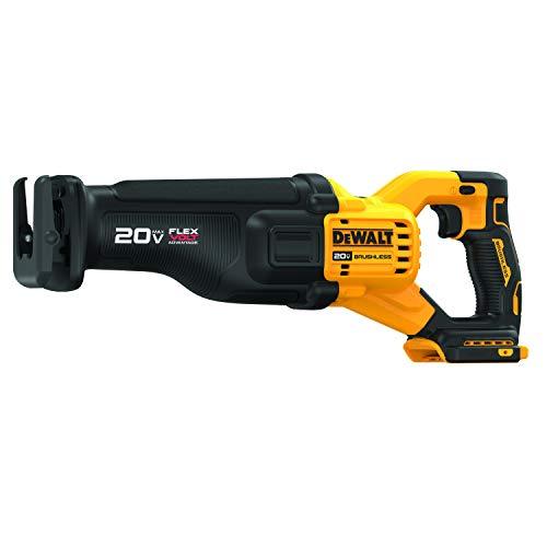 DEWALT DCS386B 20V MAX Brushless Cordless Reciprocating Saw with FLEXVOLT ADVANTAGE (Tool Only)