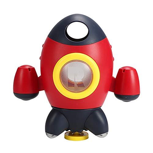 Sonline Juguetes de BaaO para BebéS Cohete Rociador de Agua Giratorio Juguetes de BaaO para BebéS Juego de Agua en el BaaO o en la Piscina Juguetes Divertidos Juguetes de BaaEra(A)