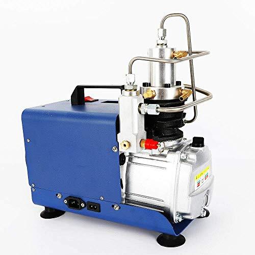 Compresor de aire de 30 MPA PCP, 1800 W, 2800 r/min, bomba de aire de alta presión eléctrica, presión ajustable, compresor de aire de alta presión para coche, moto y bicicleta