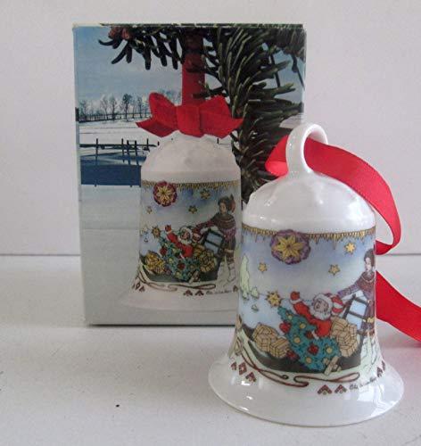 Hutschenreuther - Weihnachtsglocke 1991 - Glocke Porzellan - NEU - OVP - 1. WAHL