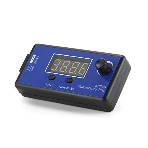 ICQUANZX Digital Servo Tester/ESC Consistency Tester for RC Helicopter Airplane Car Motor Throttle Display