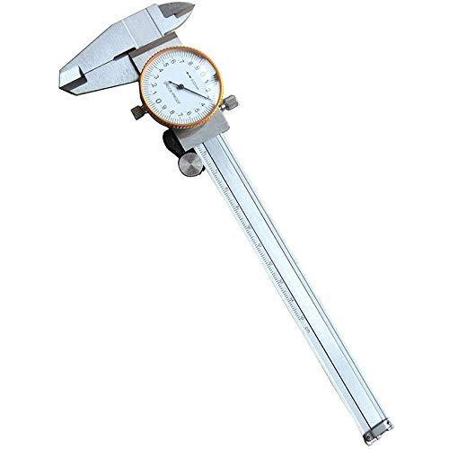 Kit réparation Montre 0-150mm étriers Pied à Coulisse Table Haute précision avec Montre Outils Mesure Mesure Antichoc à Double Sens, Montres pour homm
